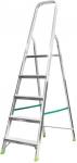 Лестница - стремянка, алюминиевая, 4 ступени, вес 3,6 кг, FIT, 65352