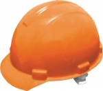 Каска строительная, оранжевая, FIT, 12201