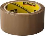 "Лента ""MASTER"" клеящая, коричневая, толщина 45 мк, 48мм х 60м, STAYER, 1207-50"