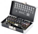 Набор бит, магнитный адаптер,сталь S2,пластиковый кейс,32 предм., GROSS, 11363