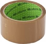 """Клейкая лента """"Эксперт"""", 45 мкм, 36 мм х 60 м, цвет коричневый, СИБРТЕХ, 88723"""