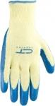Перчатки х/б 10 класс, латексное рельефное покрытие, СИБРТЕХ
