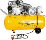 Компрессор PC 3/100-504, масляный, ременный, произв. 504 л/м, мощность 3 кВт, DENZEL, 58098