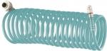 Полиуретановый спиральный шланг профессиональный BASF, с быстросъемными соединениями, STELS