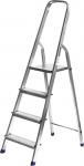 Лестница-стремянка алюминиевая, 4 ступени, 82 см, СИБИН, 38801-4