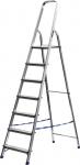 Лестница-стремянка алюминиевая, 7 ступеней, 145 см, СИБИН, 38801-7